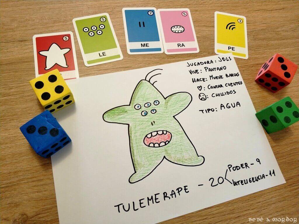 proto hoja personaje juego de rol Monster Kit