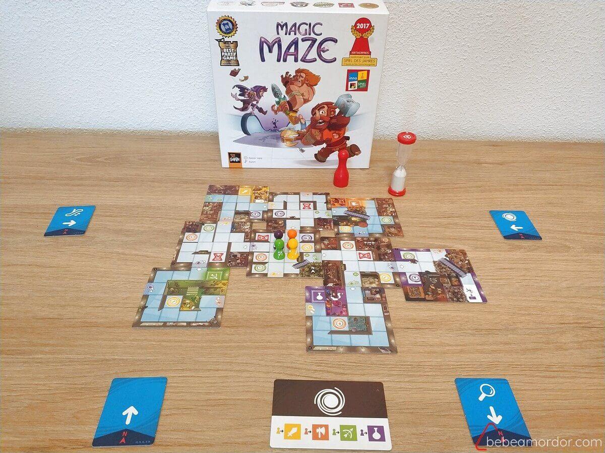 reseña juego de mesa Magic Maze