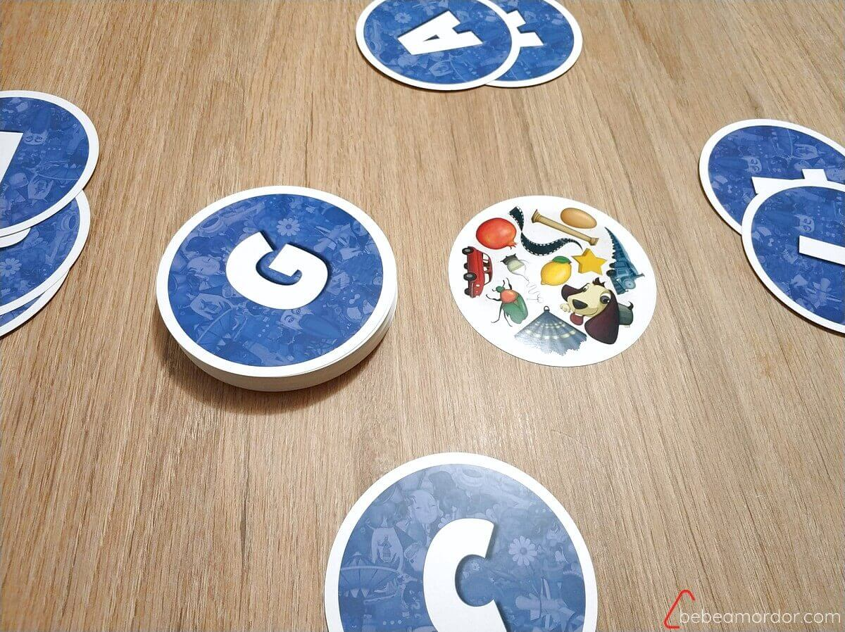 juego de mesa Look Around