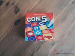 caja del juego Con5