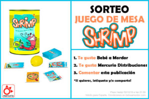 Shrimp sorteo FB