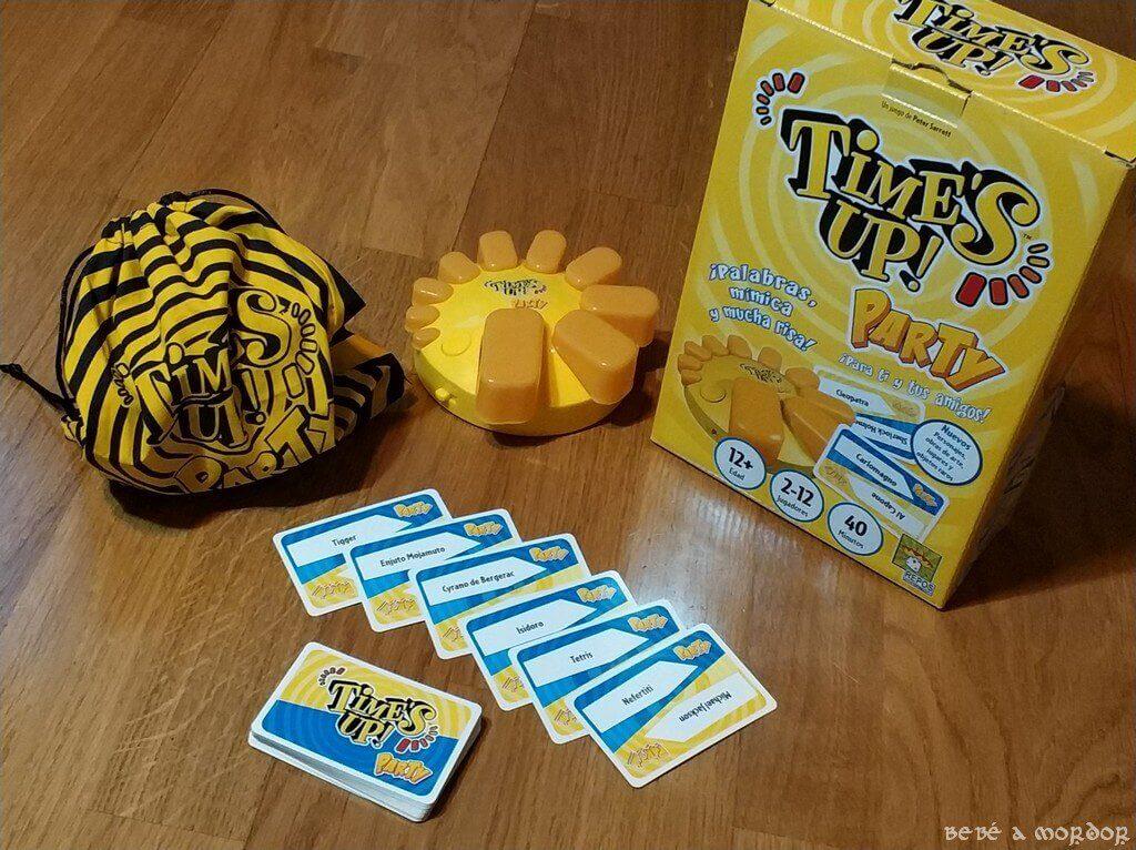 caja juego de mesa Time's Up Party Big Box Asmodee