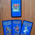 cartas de artefacto azules VUDÚ