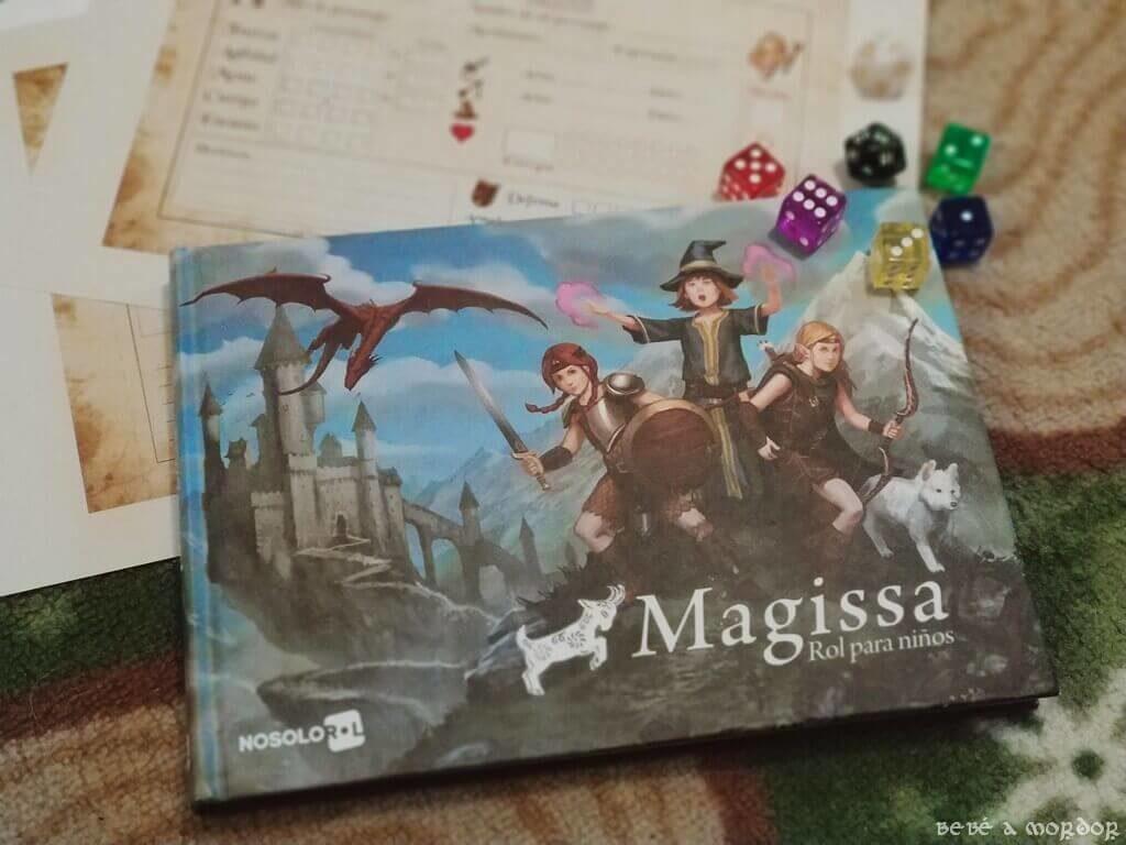 juego de rol Magissa rol para niños