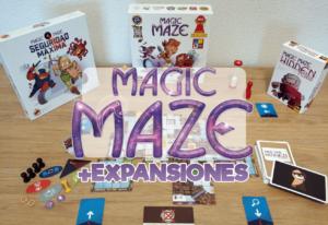 portada reseña cómo se juega base y expansión de Magic Maze