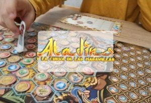 portada reseña juego de mesa Aladino Manu Sánchez