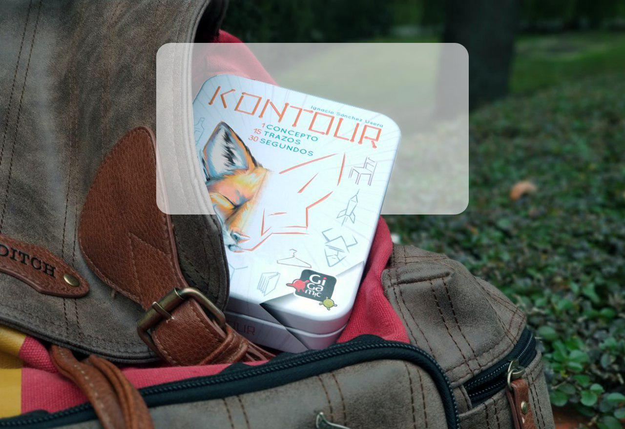 portada reseña juego de mesa Kontour de Mercurio