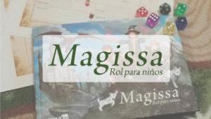 portada juego de rol Magissa para niños