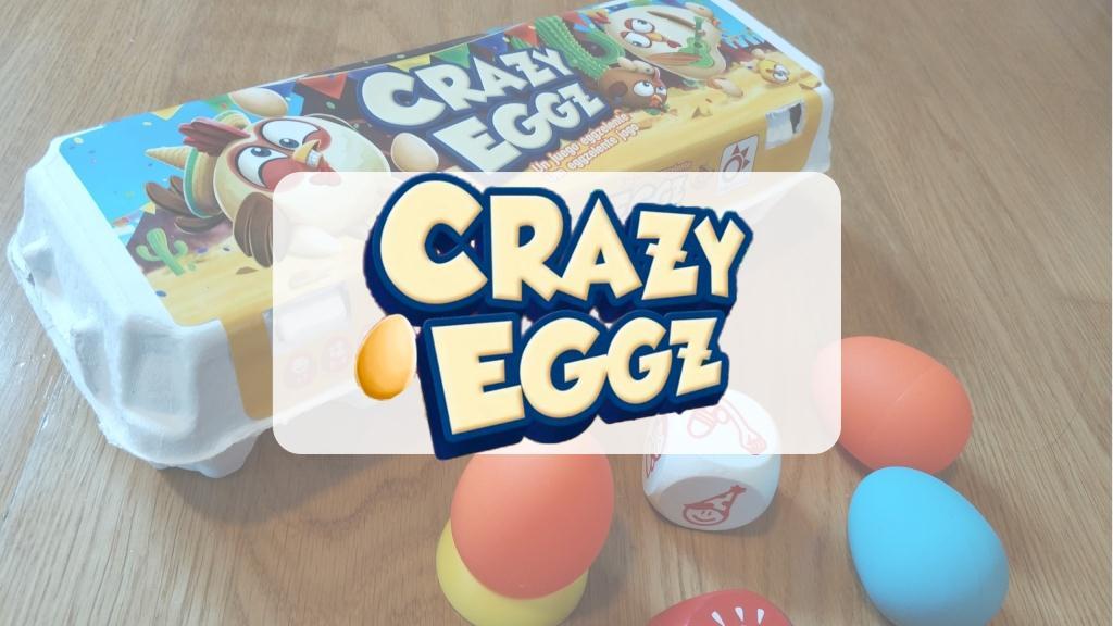 reseña cómo se juega juego de mesa Crazy Eggz Mercurio
