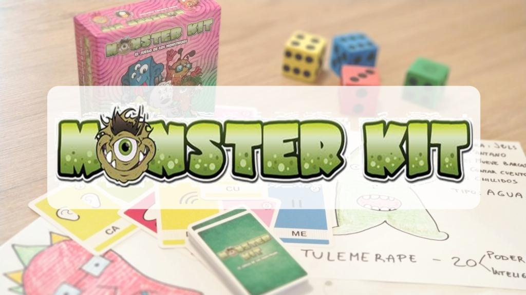 portada reseña cómo se juega al juego de mesa MONSTER KIT