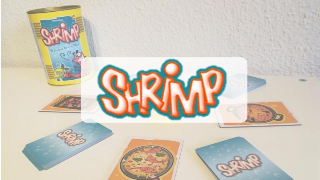 portada reseña cómo se juega al juego de mesa SHRIMP de Mercurio