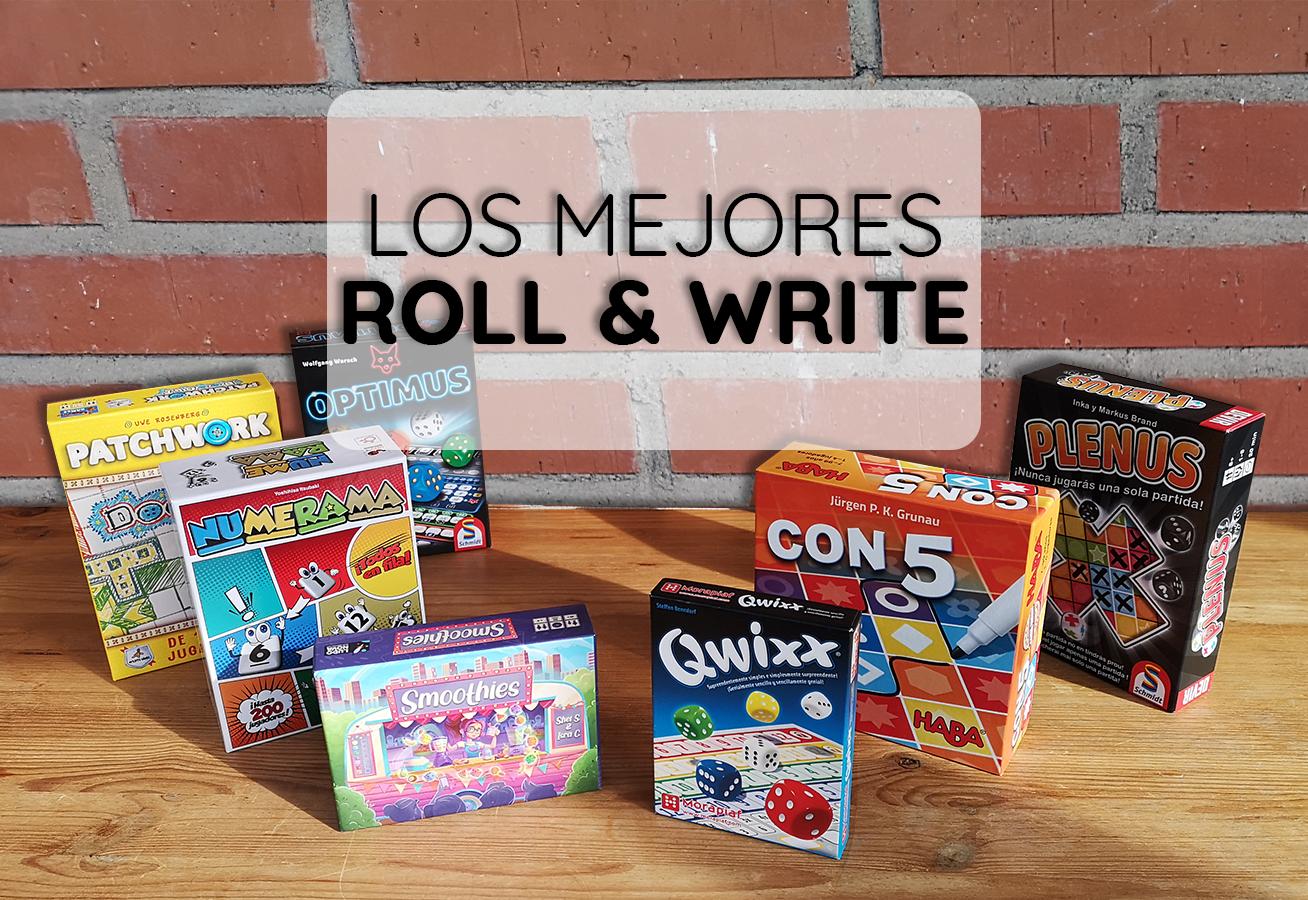 portada reseña mejores juegos de mesa roll and write