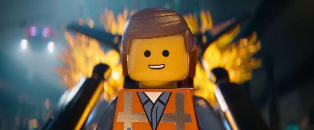 The LEGO Movie está hecha con piezas de LEGO entera