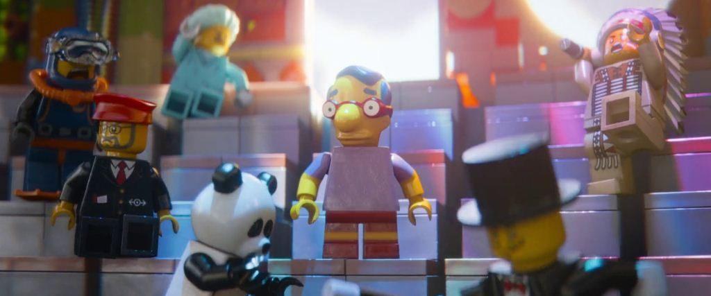 LEGO Película apariciones estelares Milhouse