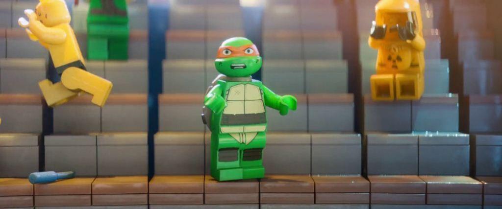 LEGO Película apariciones estelares Tortugas Ninja