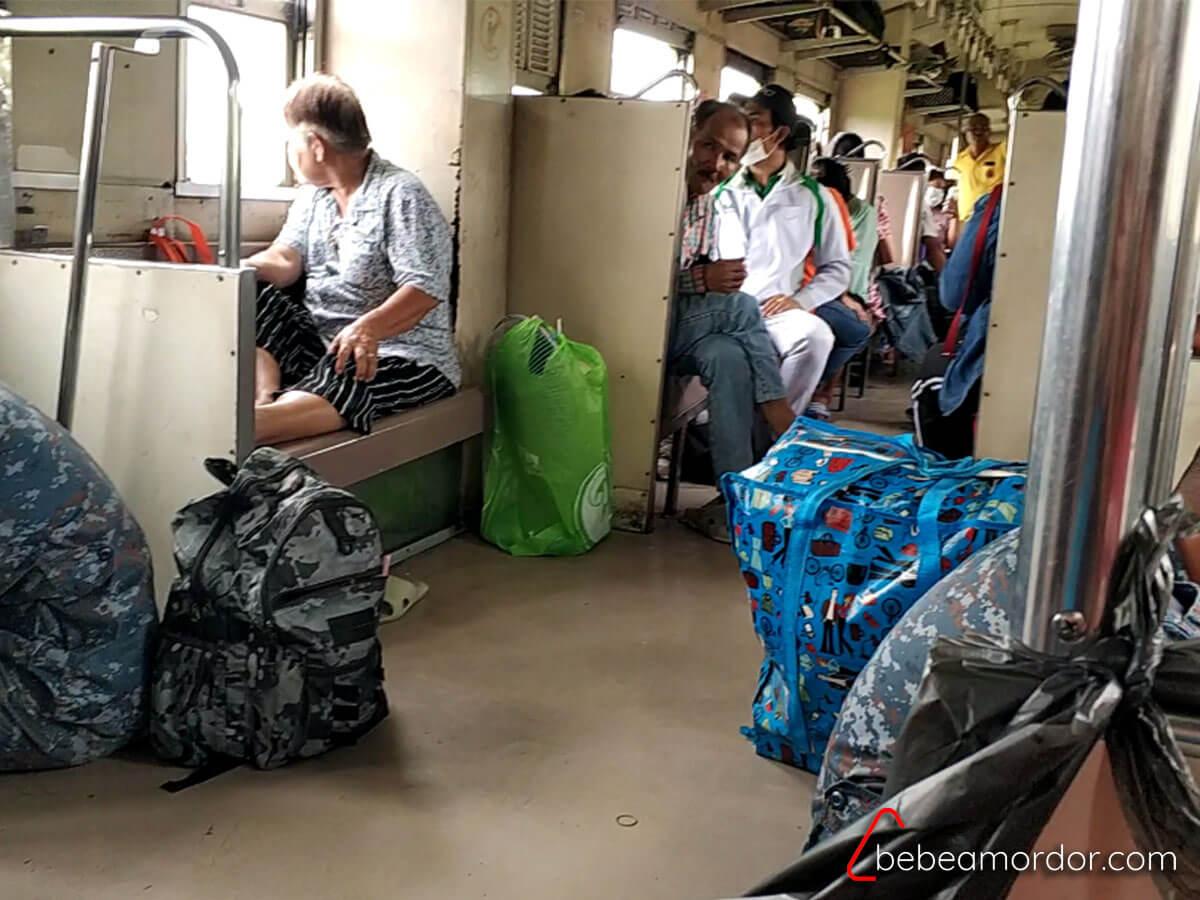 tren a Khao Yai