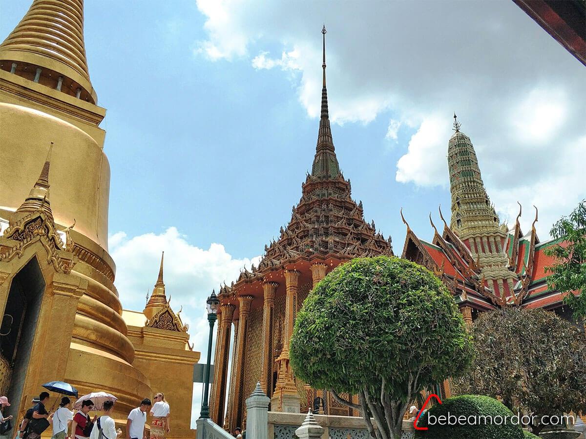 viajar a Tailandia con niños Bangkok tradicional, Gran PAlacio
