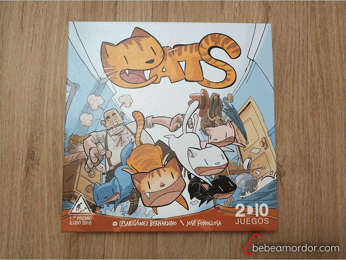 portada caja juego de mesa Cats 2D10.