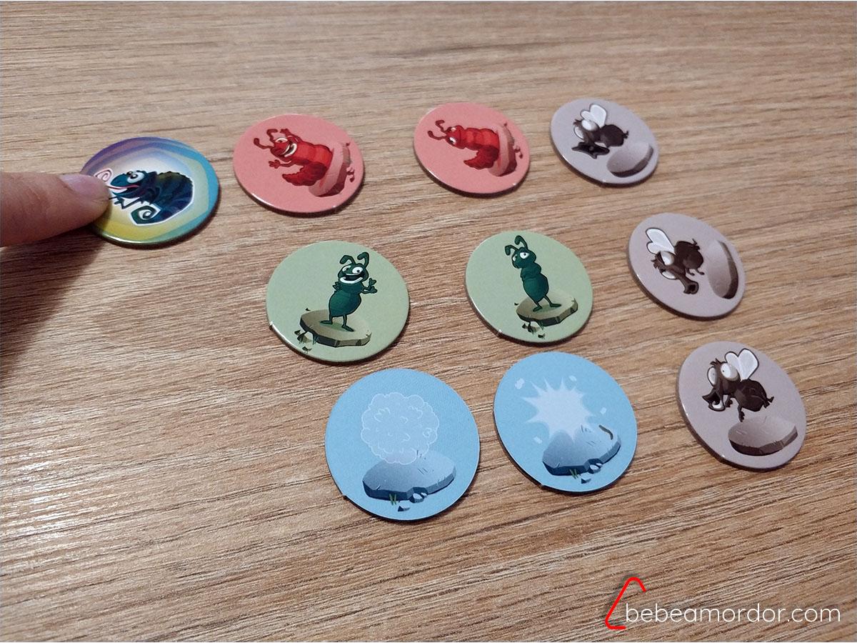 juego Kameleo movimientos