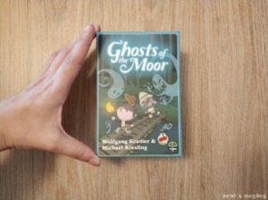 tamaño pequeño caja juego de mesa Ghosts of the Moor