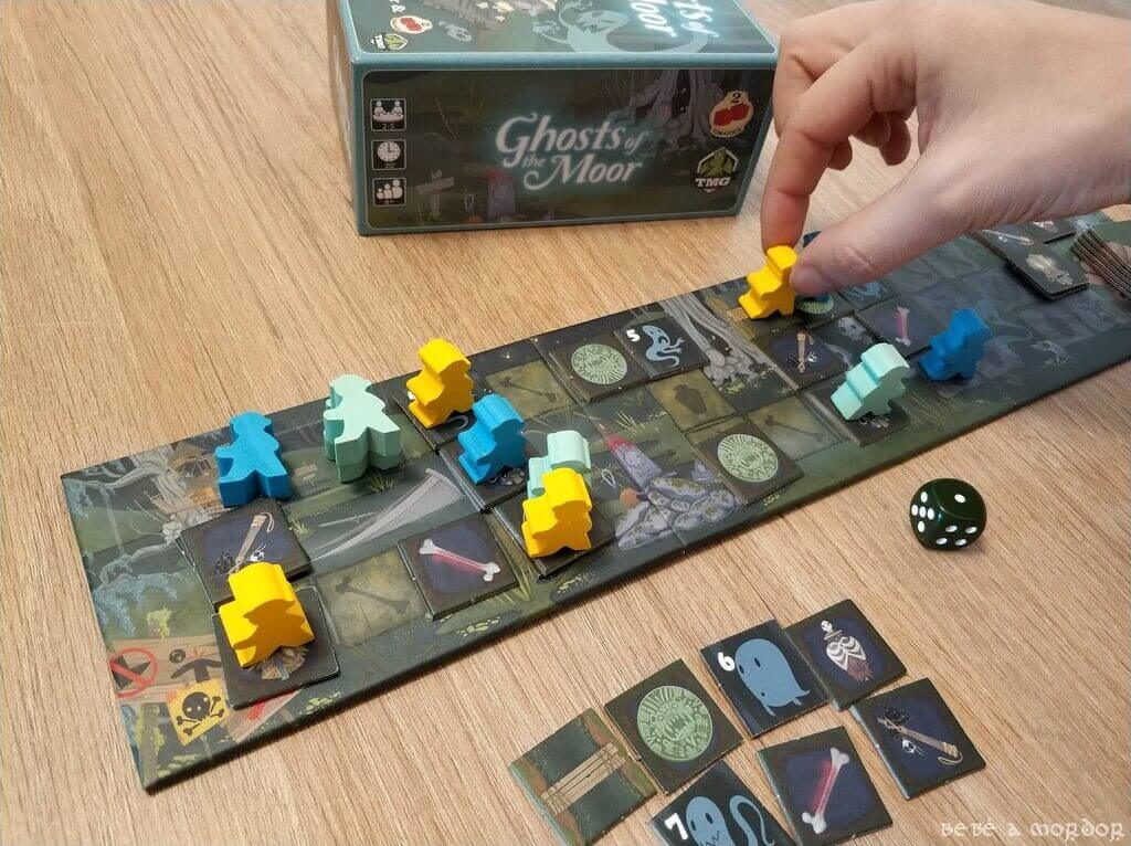 ficha pedagógica juego de mesa Ghosts of the Moor