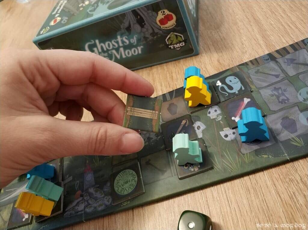 análisis y reseña juego de mesa familiar Ghosts of the Moor