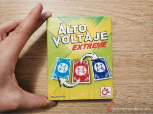 caja juego Alto Voltaje Extreme de Mercurio, tamaño pequeño