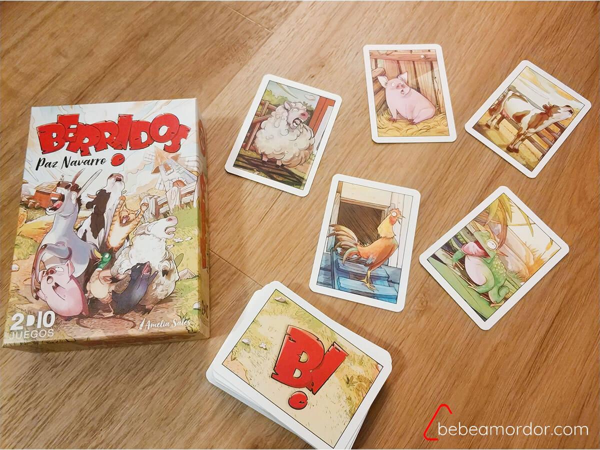 juego de mesa Berridos
