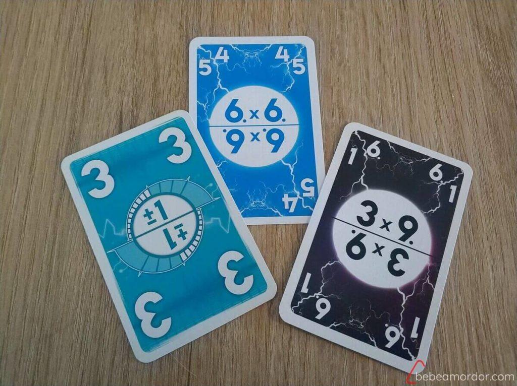 cartas válidas desafío Alto Voltaje multiplicar y sumar y restar
