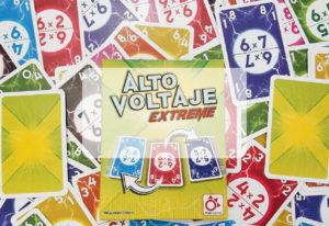 portada reseña cómo se juega al juego de mesa Alto Voltaje Extreme