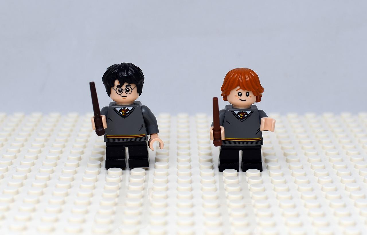 juguetes de personajes frikis de Harry Potter