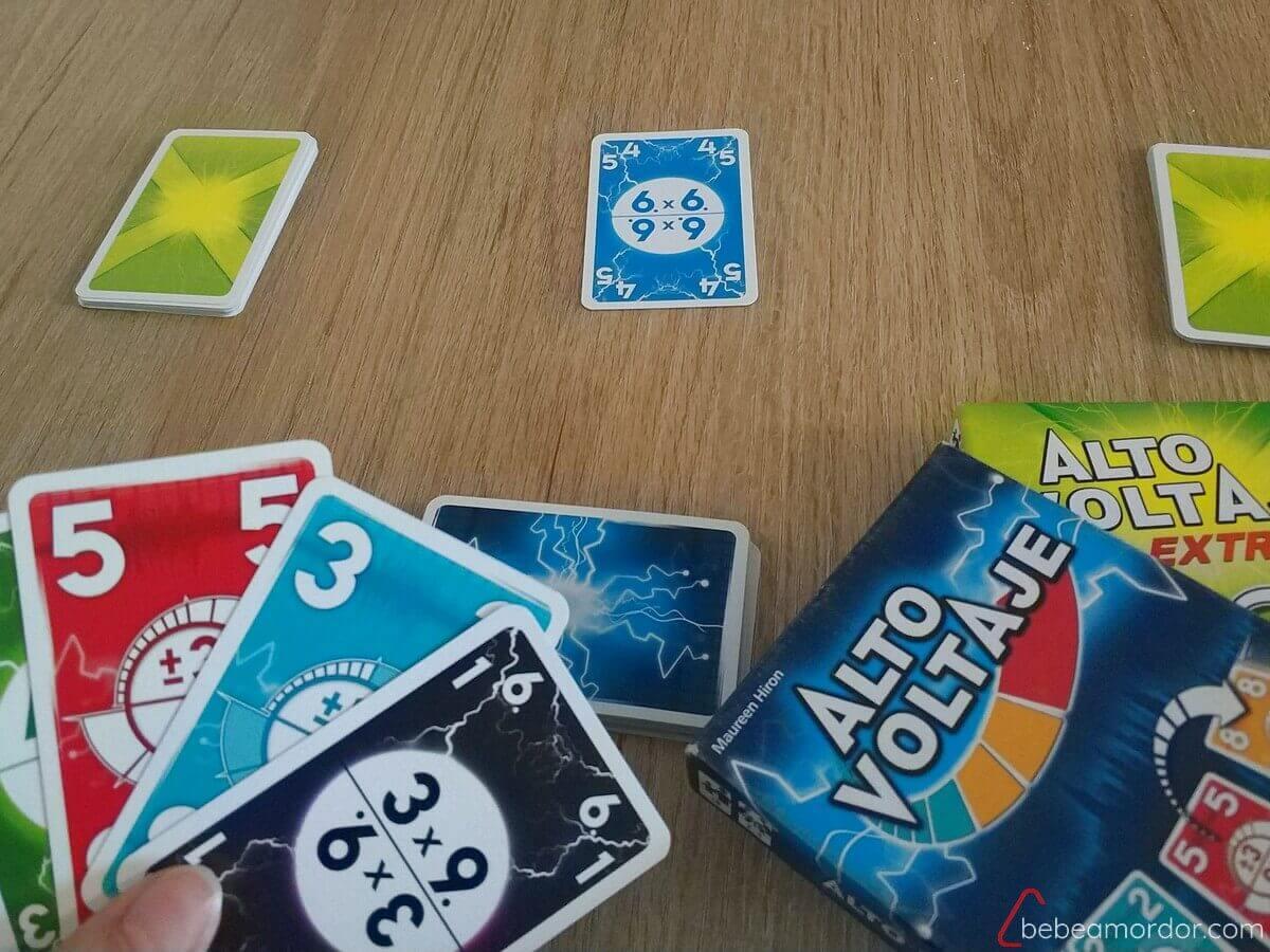 preparacion juego desafío Alto Voltaje Extreme sumas restas y multiplicaciones