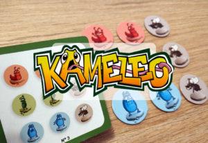 reseña juego de mesa Kamaleo