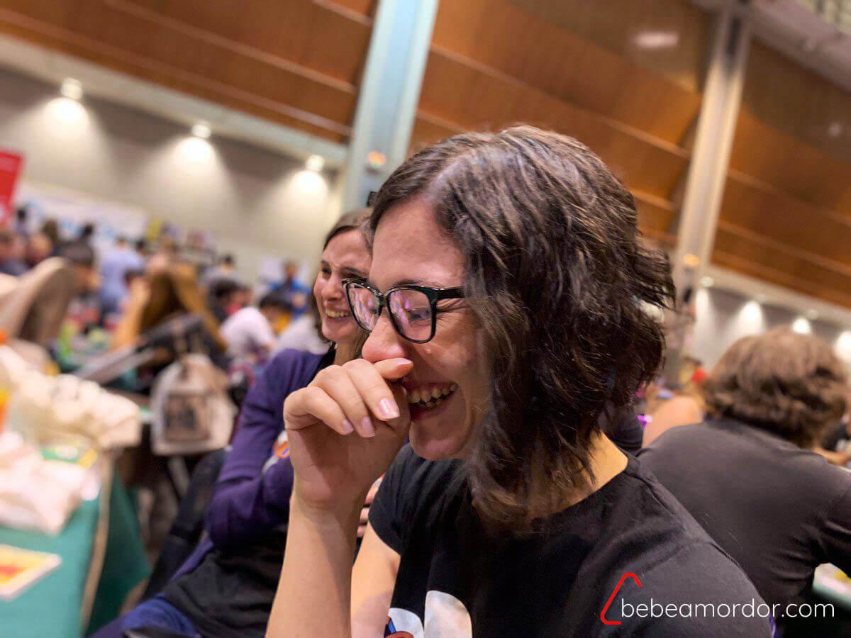 reacciones al juego de mesa Berridos