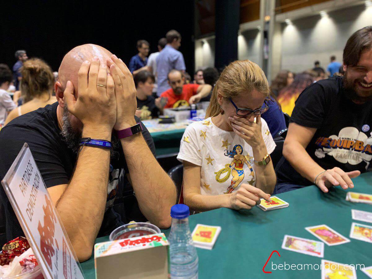 partida al juego de mesa Berridos