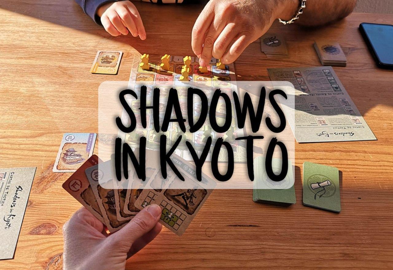 portada juego de mesa Shadows in Kyoto
