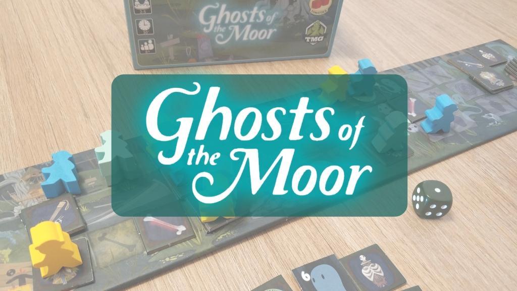 portada reseña cómo se juega juego de mesa Ghosts of the Moor