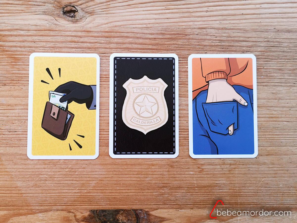 cartas especiales del juego de mesa calderilla