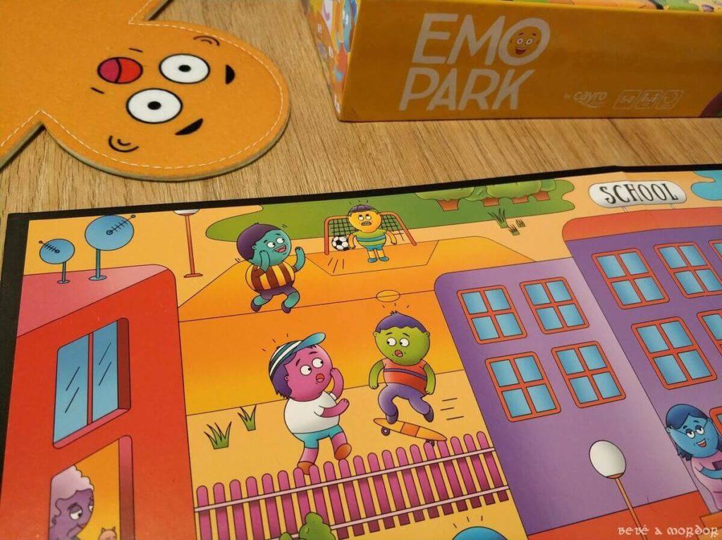 Cayro EMO PARK ilustraciones