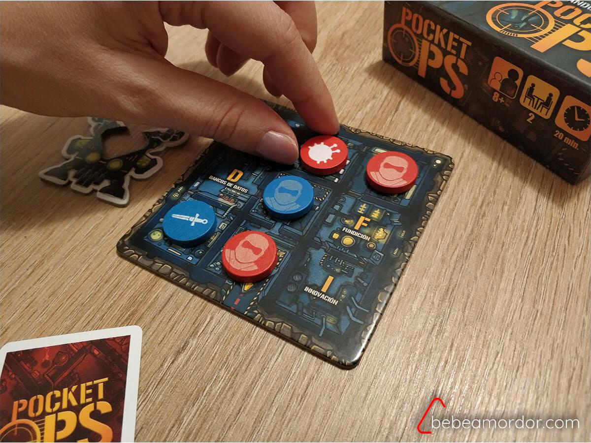 jugando a pocket ops