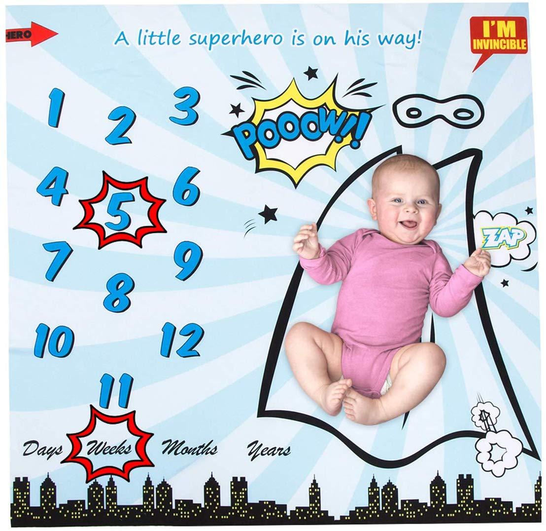 manta fotos cumplemes como regalos originales para un bebé.