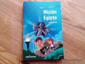 Portada del libro Swift y Brainy Misión Equipto