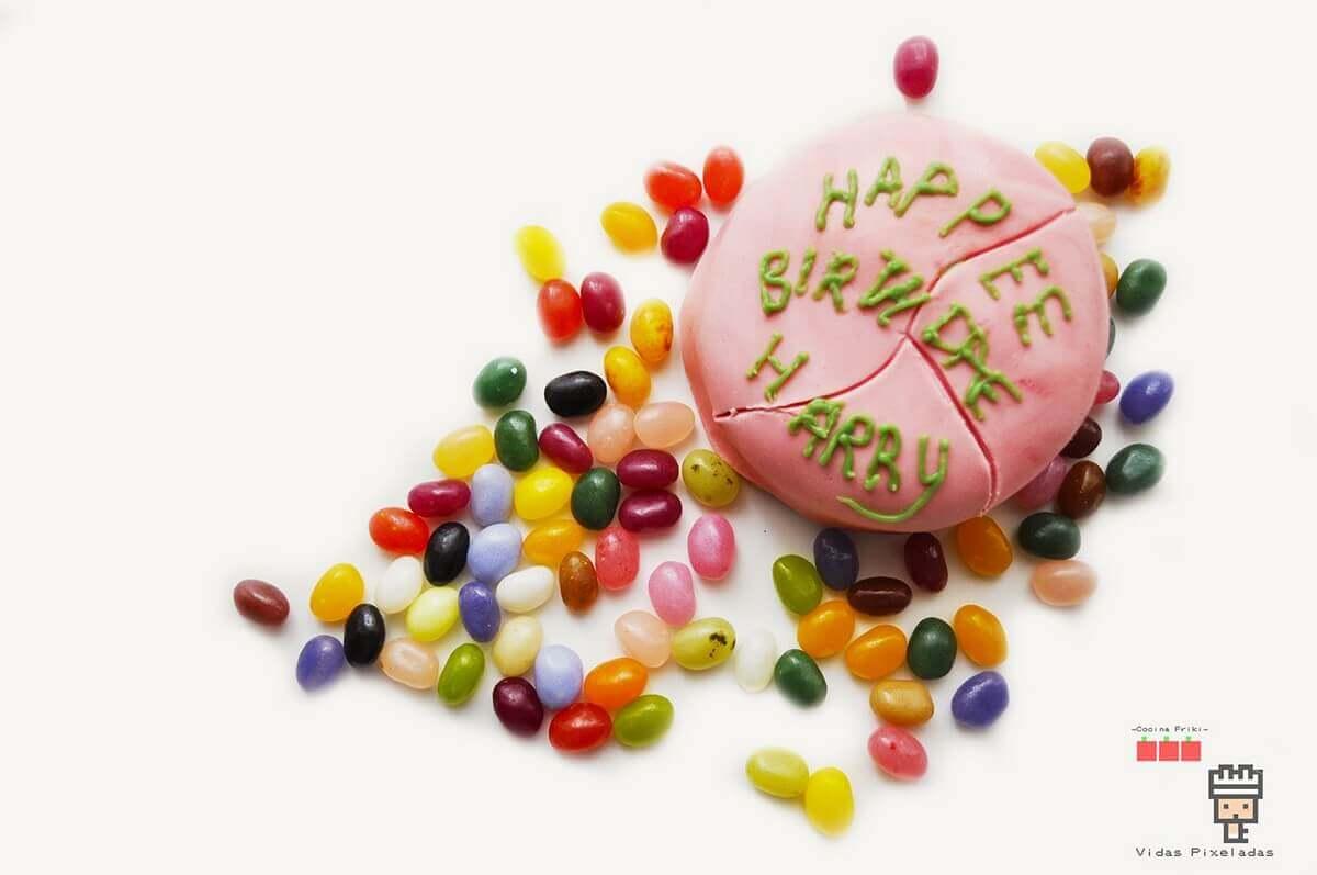 cake y bertie HARRY POTTER pastel de Hagrid
