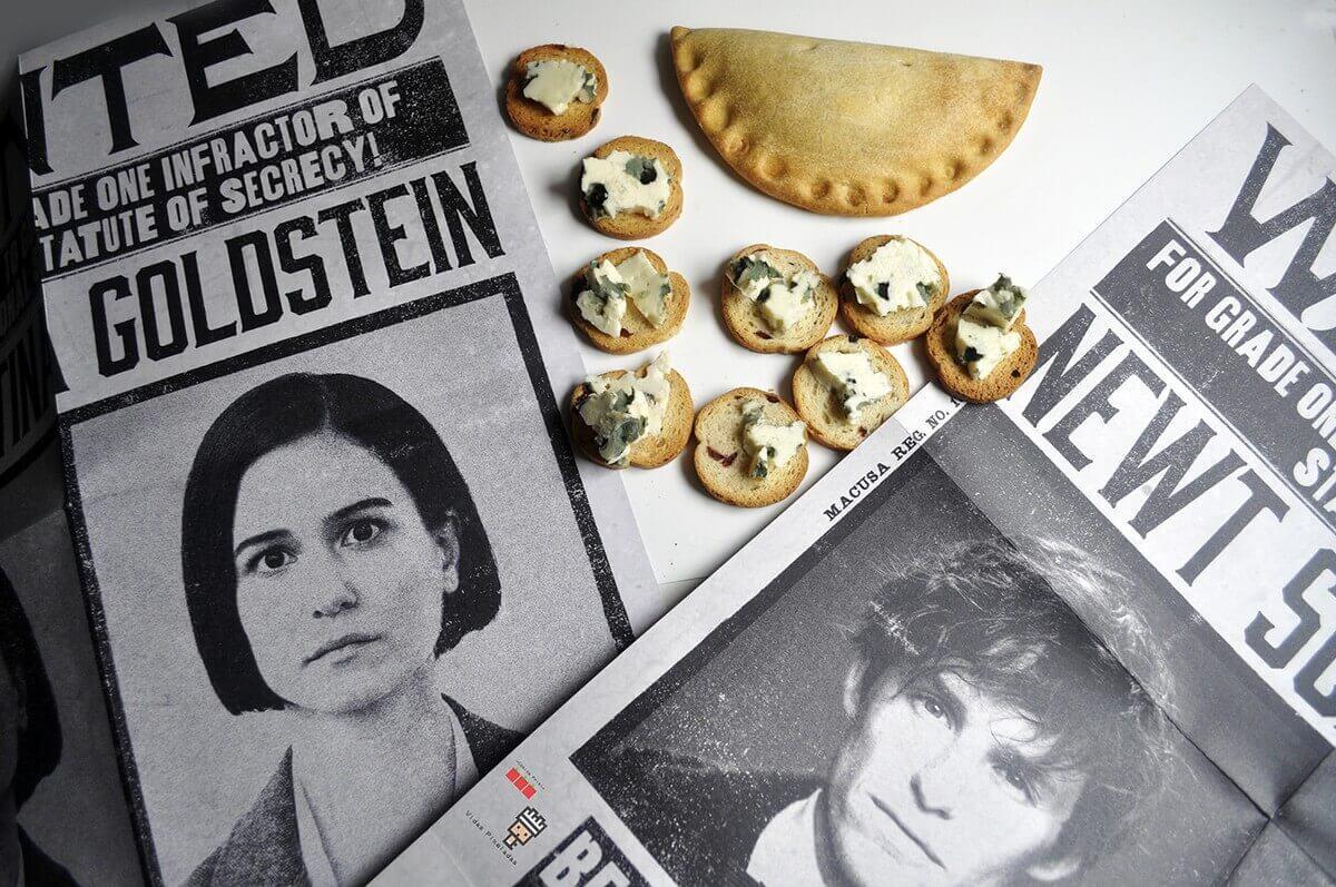 empanada de calabaza y queso con moho recetas frikis Gran Comedor Harry Potter