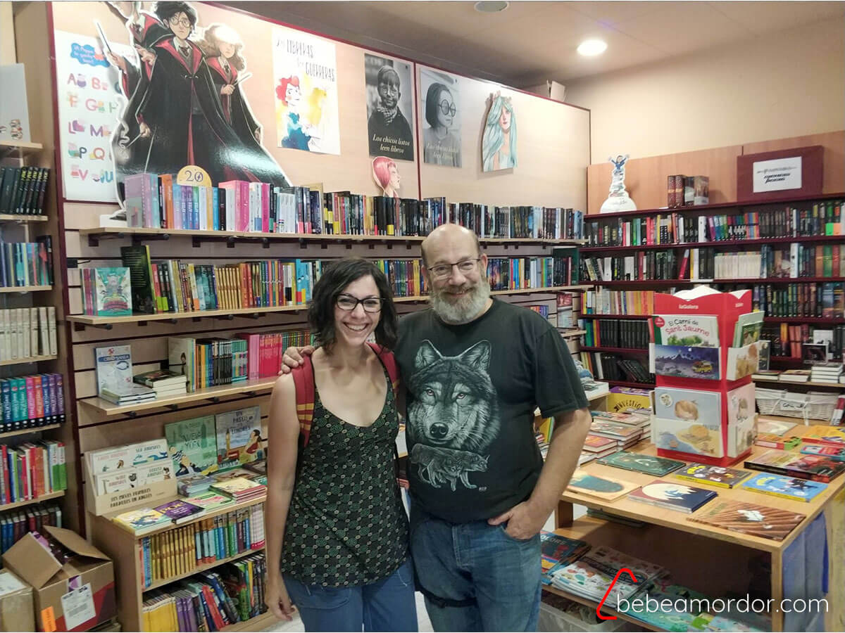 Libreria de Sant Cugat El Celler de Llibres.