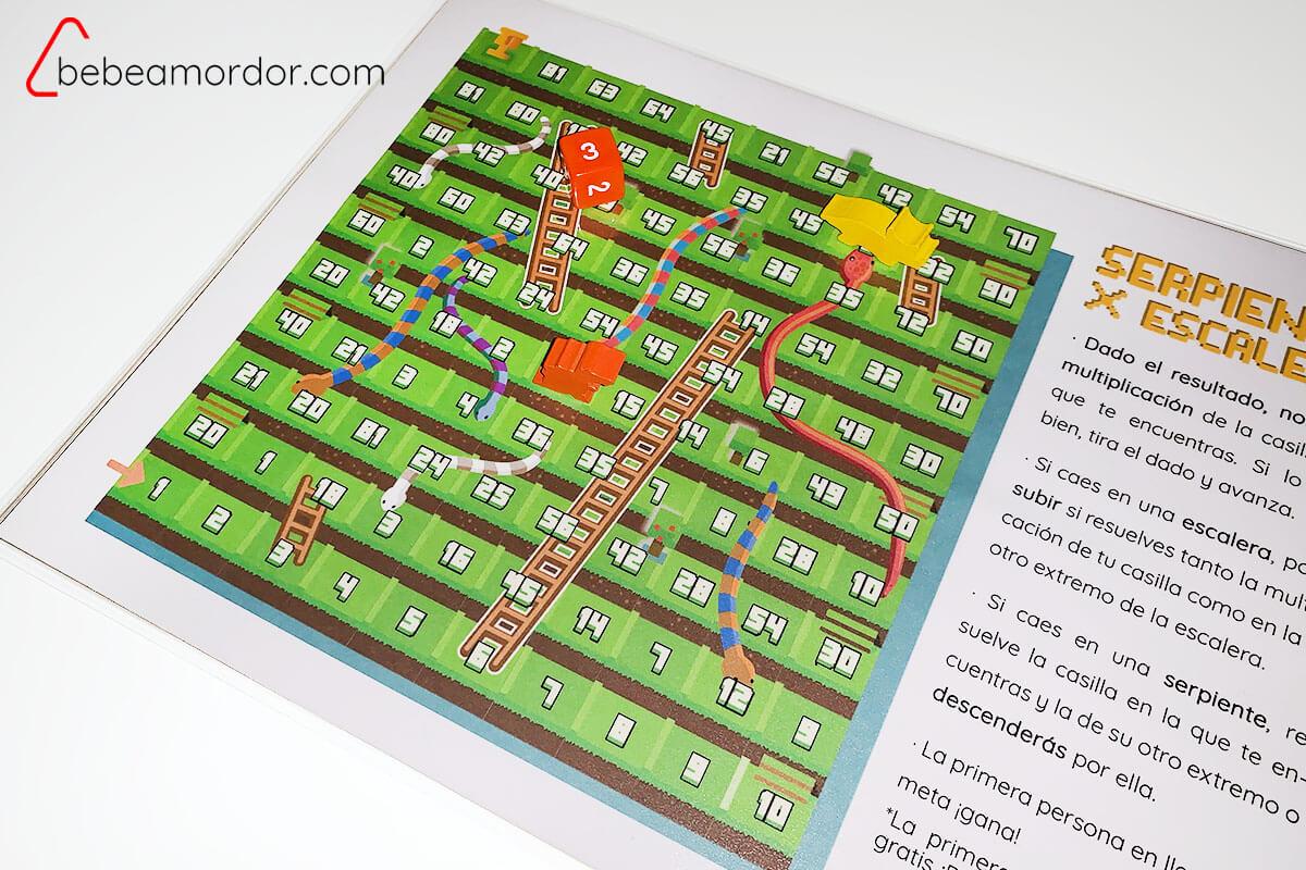 juego para aprender tablas de multiplicar