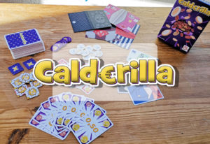 imagen para la cabecera de la reseña del juego de mesa calderilla