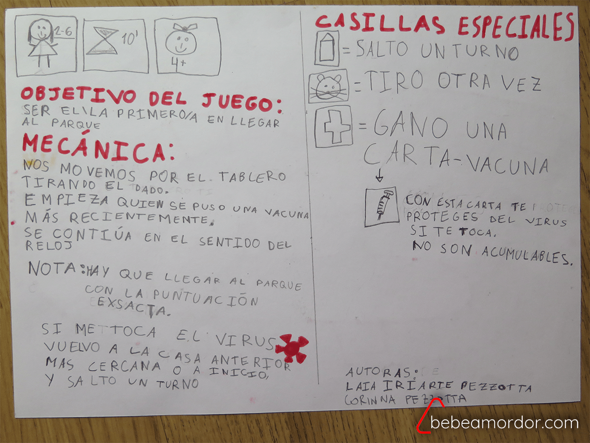 Reglas del juego de mesa del coronavirus originales