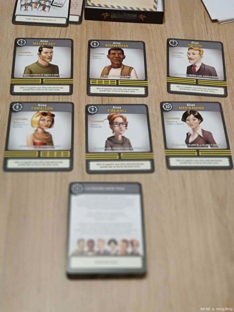 personajes juego de mesa