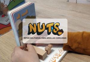 reseña juego de mesa solitario para niños nuts